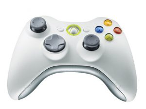 Xbox360 wireless controller white