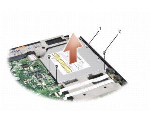dell optical drive 300x241 Ugradnja drugog HDDa umesto optičkog drajva na laptopu