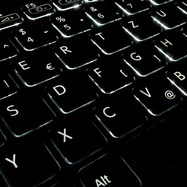 VAIO keyboard backlight