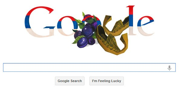 Google Doodle za Dan državnosti Srbije