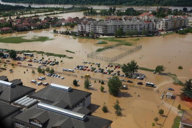 Poplavljeni Obrenovac