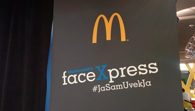 McDonalds faceXpress